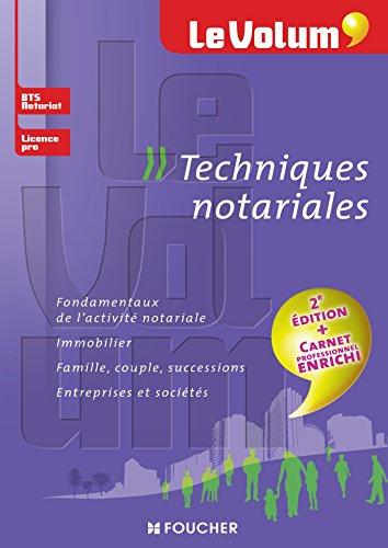 9782216129300: techniques notariales (2e édition)