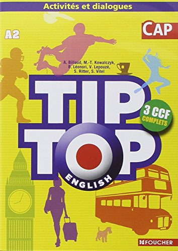9782216130726: TIP-TOP English CAP CD audio