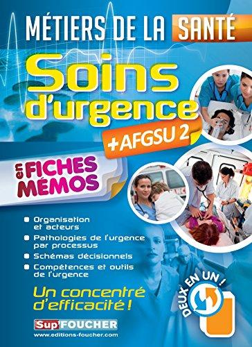 9782216131204: Soins d'urgence - AFGSU 2 - en fiches mémos - Métiers de la santé