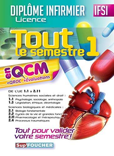IFSI Tout le semestre 1 en QCM: Kamel Abbadi; Jacques