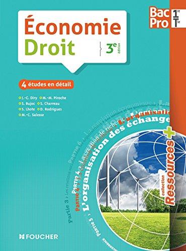 9782216131754: économie ; droit ; 1ère, terminale ; bac pro (3e édition)