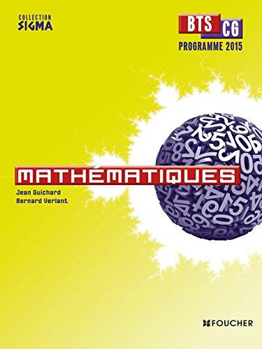 9782216132034: mathématiques ; bts cg (programme 2015)