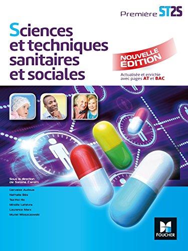 Sciences et techniques sanitaires et sociales -: Gervaise Audous; Nathalie