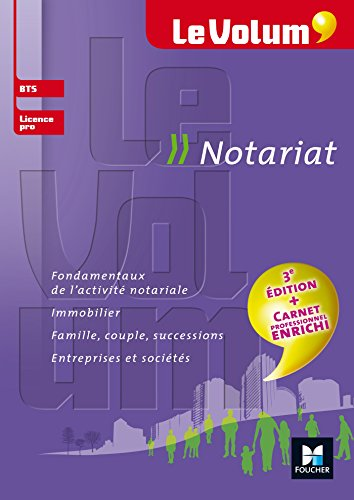 9782216146314: Le Volum' BTS Notariat - N°9