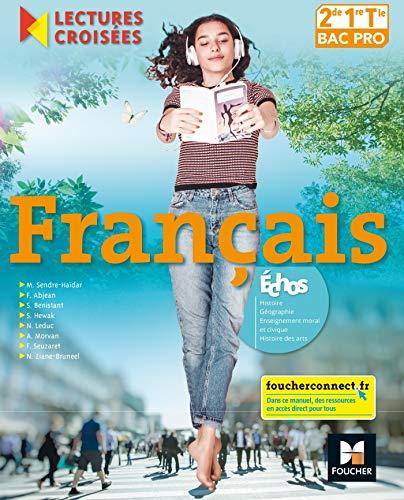 9782216148424: Lectures croisées - Français 2de-1re-Tle BAC PRO - Éd. 2018 - Manuel élève
