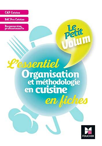 9782216149568: Le Petit Volum' - Organisation et méthodologie en cuisine - Révision et entrainement