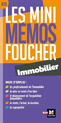 9782216154210: Les mini memos Foucher - Immobilier - Révision