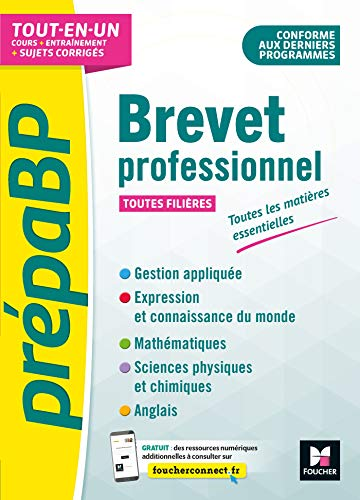 9782216154852: PrépaBP - Brevet professionnel - Toutes les matières essentielles - Révision et entrainement