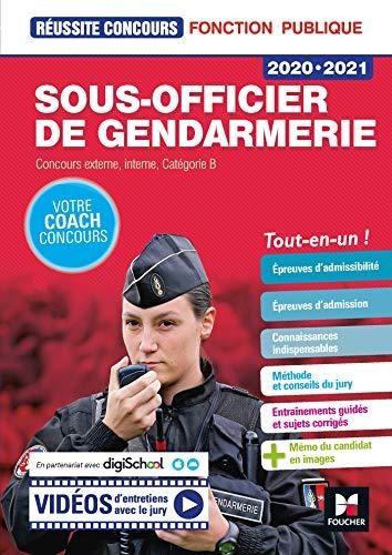 9782216157044: Réussite Concours - Sous-officier de gendarmerie - 2020-2021- Préparation complète
