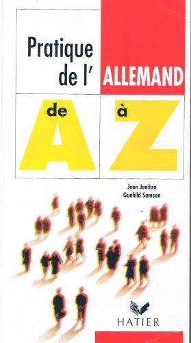 9782218005121: Pratique de l'allemand de a a z ed.94