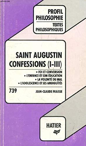 CONFESSIONS, SAINT AUGUSTIN: Laurence Hansen-Love