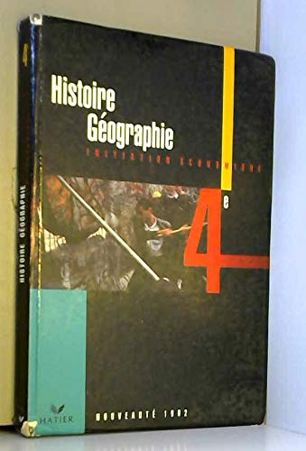 Histoire Geographie 4eme Livre De