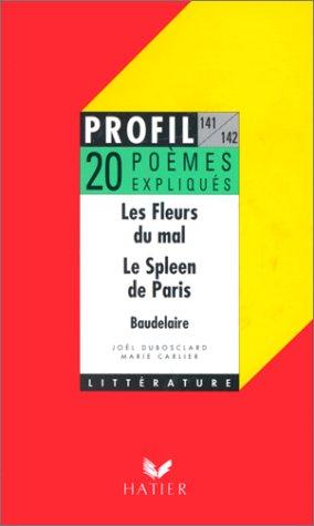 """Les fleurs du mal"""" (1857), """"Le spleen"""