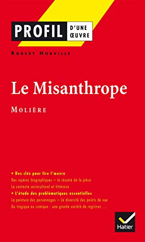 a character analysis of molieres the misanthrope