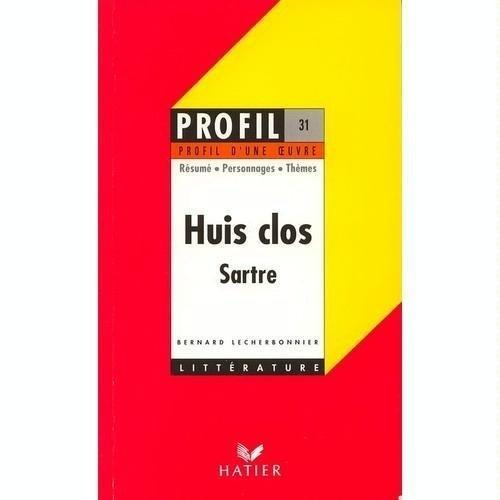 9782218053337: Profil d'Une Oeuvre: Sartre: