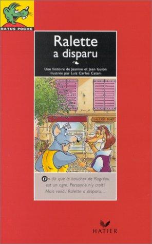 9782218056611: Ralette a Disparu (French Edition)