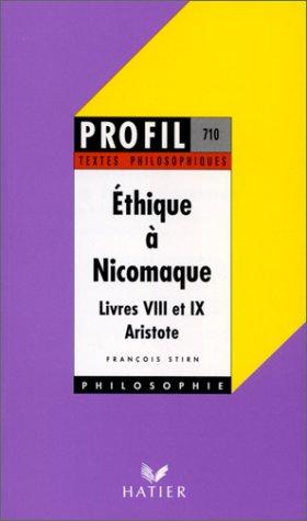 9782218068140: Ethique à Nicomaque de Aristote. Livres VIII et IX