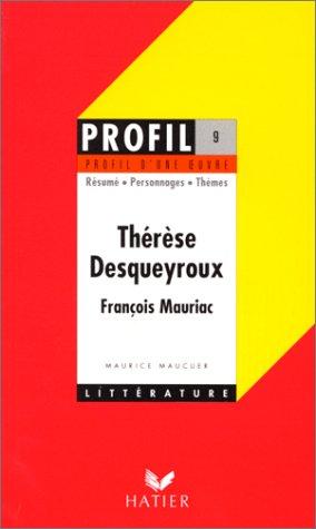 9782218068386: Therese Desqueyroux