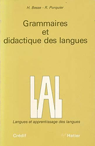 9782218069338: Collection Lal - Langues Et Apprentissage DES Langues: Grammaire Et Didactique DES Langues (French Edition)