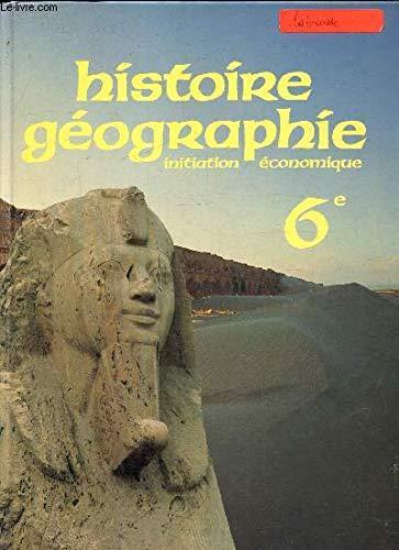 Histoire Geographie Initiation Economique Abebooks