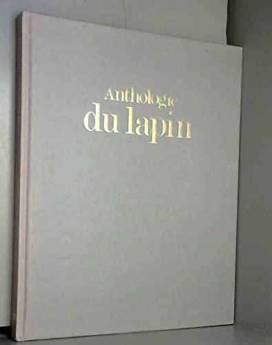 Anthologie du lapin