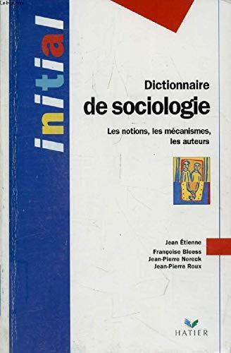 9782218710162: Dictionnaire de sociologie
