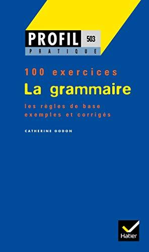9782218710247: La Grammaire - 100 exercices
