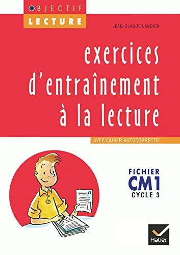 9782218711961: CM1 - fichier - exercices d'entrainement a la lecture