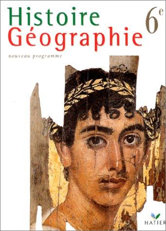 9782218712920: Histoire geographie - sixième -manuel