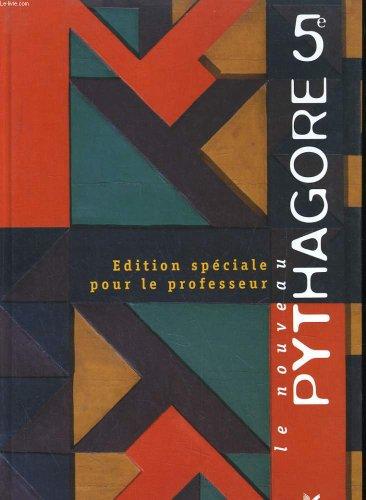 9782218717376: Le nouveau pythagore 5e. edition speciale pour le professeur