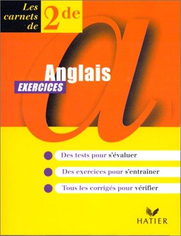 9782218719509: Anglais, seconde, carnet d'exercices