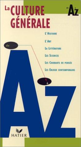 9782218720376: La Culture générale de A à Z
