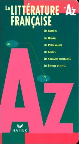 La littérature française de Aà Z: Eterstein Claude