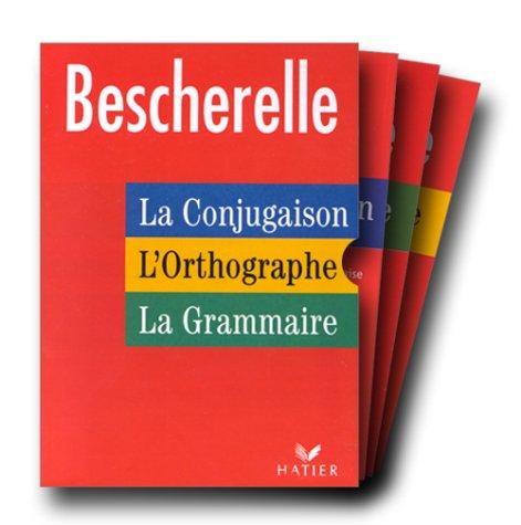 9782218721663: Bescherelle : La Conjugaison - L'Orthographe - La Grammaire (Coffret de 3 volumes)