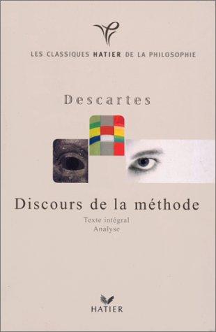 9782218725937: Discours de la méthode : Texte intégral, analyse