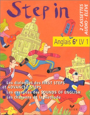 9782218726880: Step In : Anglais, 6e LV1 (cassette audio)