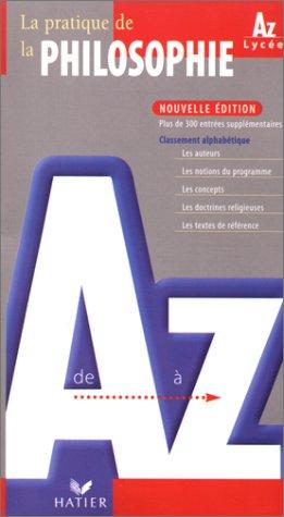 La philosophie de A Ã Z, Ã: Collectif