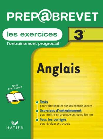 9782218731839: Prépabrevet, les exercices : Anglais, 3e