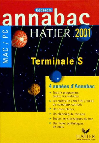 9782218734182: Annabac Terminale S 2001. CD-ROM