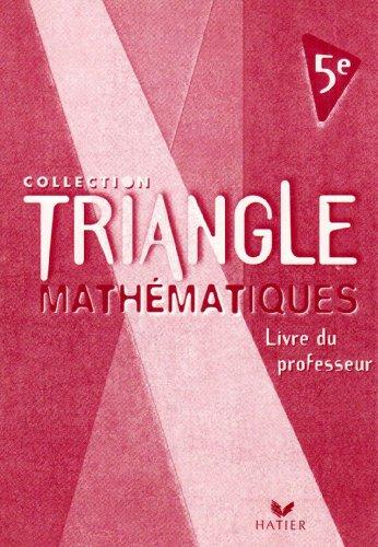 9782218734595: Mathématiques 5e : Livre du professeur