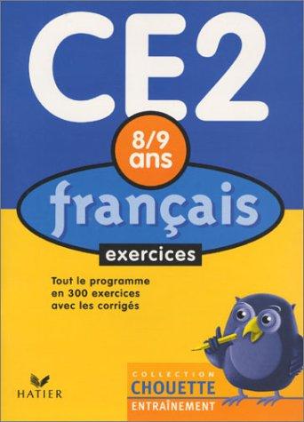 9782218737336: Chouette Entraînement : Français, du CE2 au CM1 - 8-9 ans (+ corrigés)