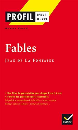 9782218737466: Fables, Jean de La Fontaine (Profil d'une oeuvre)