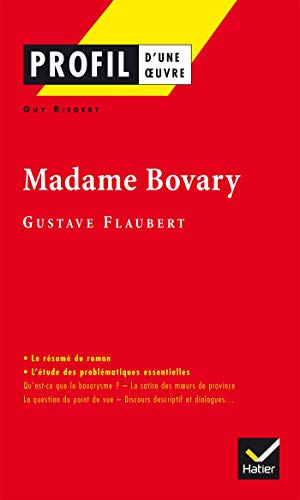 9782218737695: Profil d'une oeuvre: Madame Bovary