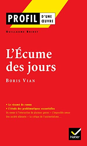 9782218737732: Profil D'Une Oeuvre: Vian (French Edition)