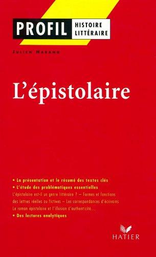 9782218738203: L'Epistolaire