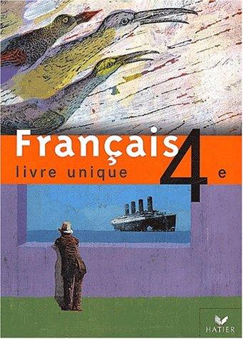 Francais 4eme Livre Unique Abebooks