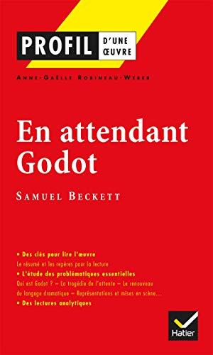 9782218739477: Profil d'une oeuvre: En attendant Godot (French Edition)