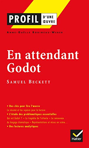 9782218739477: Profil d'une oeuvre: Beckett: En attendant Godot (French Edition)