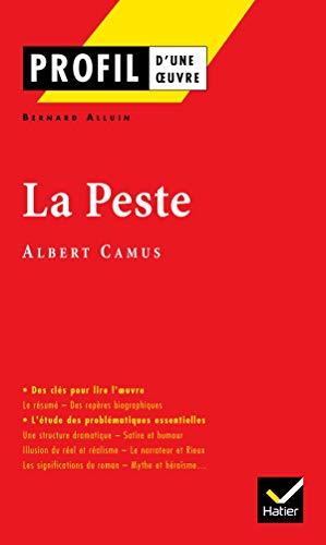 9782218740756: La Peste, Albert Camus (Profil d'une oeuvre)