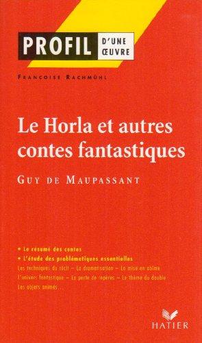 9782218740855: Le Horla et autres contes fantastiques